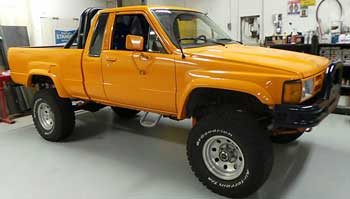 1985 toyota pickup 4x4 review