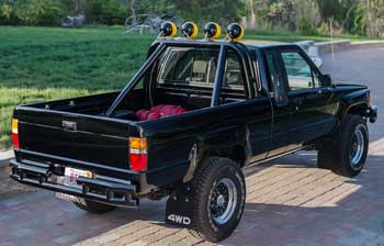 Gregs Restorations Back To The Future Toyota Pickup