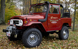 Toyota FJ 40 Land Cruiser restoration