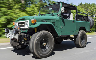 Toyota land Cruiser FJ43 restoration