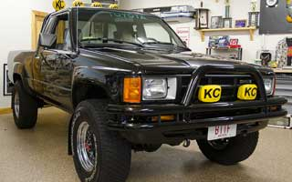 Back to the Future Toyota pickup