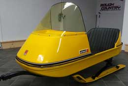 Ski-Doo trailer restoration
