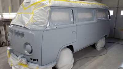 VW Camper restoration