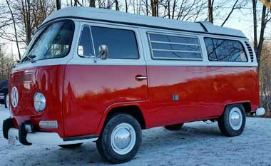 VW Camper restored